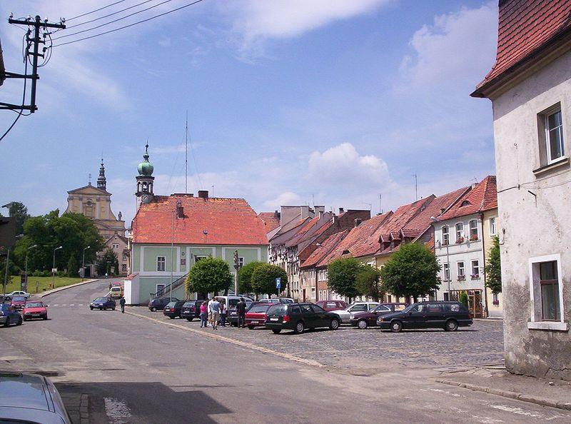 W małym miasteczku