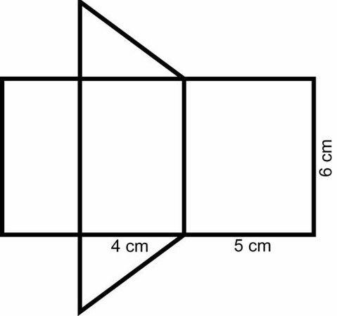 złapać sklep podgląd Jak narysować siatkę graniastosłupa prostego , którego ...