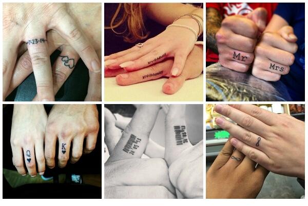 Podobają Ci Się Tatuaże Zamiast Obrączek ślubnych Lub Jako