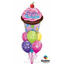 Bukiet balonowy -  501 balony z helem na urodziny