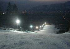 Stok narciarski nocą - Strajkowa Karczma