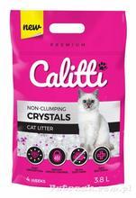 Żwirek silikonowy Calitti Crystals 3,8l