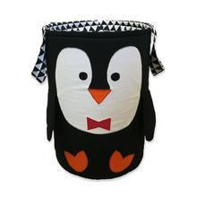 Kosz na zabawki Pingwin