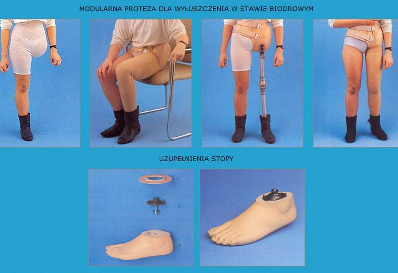 Protezy kończyn dolnych