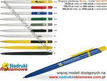 Długopisy z nadrukiem.