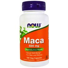 NOW MACA 500MG 100 CAPS