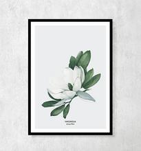 "Plakat botaniczny ""Magnolia"" A4"