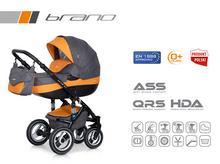Wózek wielofunkcyjny Riko Brano (Orange)