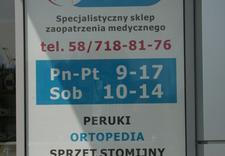 Sklep medyczny, wypożyczalnia wózków