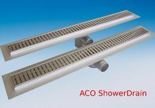 Odwodnienia linowe, kanały prysznicowe, wypusty łazienkowe