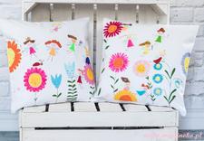 poduszki malowane ręcznie - Maminoko - poduszki i akw... zdjęcie 5