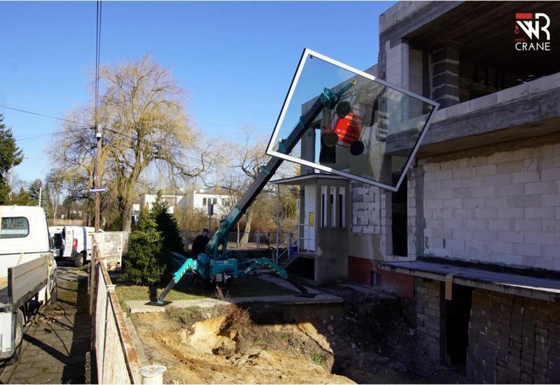 żuraw budowlany - WR mini CRANE  zdjęcie 3