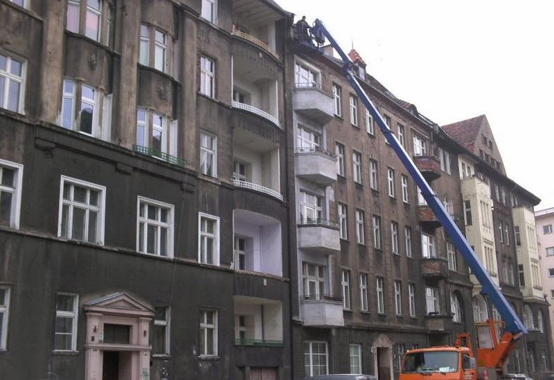 usługi podnośnikiem koszowym - FHU Mazi Marcin Krawiec zdjęcie 3