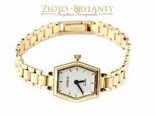 Złoty damski zegarek - 25,350 g