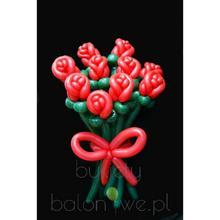 Bukiet balonowy - kwiaty Bukiet czerwonych róż