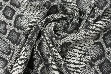 Tkanina Bawełniano-Poliamidowa Wężowa Skórka