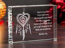 Prezent dla dziewczyny » Medalion Miłości 3D «