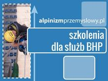 Szkolenia wysokościowe dla służb i pracowników BHP
