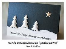 Kartka Bożonarodzeniowa Grudniowa Noc