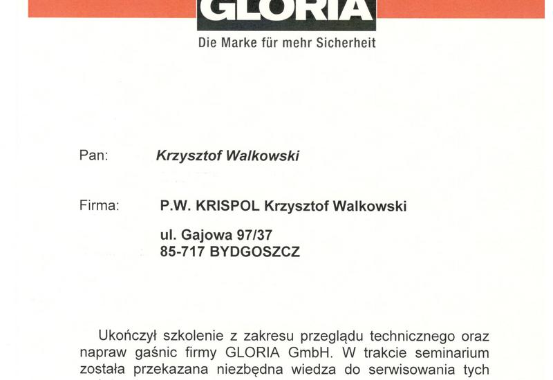 legalizacja gaśnic - P.W. KRISPOL KRZYSZTOF WA... zdjęcie 7