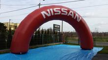 Brama Łuk 4x8m Nissan