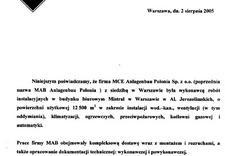 testy przenikalności zanieczyszczeń - YIT Poland - Biuro serwis... zdjęcie 20