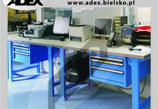 aranżacja stanowiska pracy - ADEX - meble i wyposażeni... zdjęcie 12