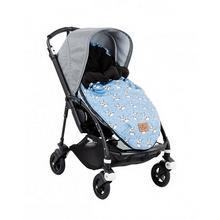Śpiworek do wózka - Renifery - niebieski Effiki