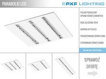 PARABOLIC LED – oprawa wnętrzowa kasetonowa