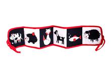 Kontrastowa książeczka 2w1 - Pierwsze zwierzaki