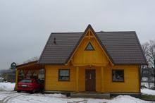 Ecohouse II A - z wiatą