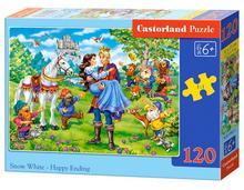 Puzzle Castor 120 - Królewna Śnieżka