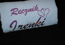 haft na ręcznikach - NiceHaft Haft Komputerowy zdjęcie 5
