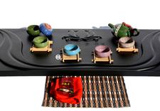 drewniane stoły do parzenia herbaty - Mabiko Invest Marcin Maty... zdjęcie 2