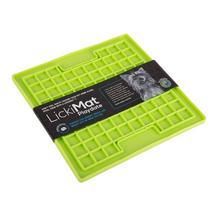 LickiMat Playdate soft kwadrat zielona i pomarańcz