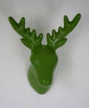 The Zoo Wieszak ścienny Deer zielony