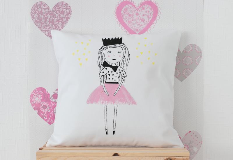 malowanie na tkaninie - Maminoko - poduszki i akw... zdjęcie 6
