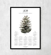 Kalendarz botaniczny na rok 2019 z Szyszką
