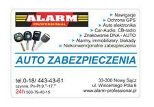 multimedia samochodowe - Alarm Professional. Alarm... zdjęcie 1