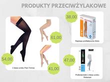 Produkty przeciwżylakowe