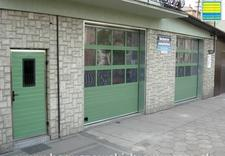 Drzwi garażowe, zawiasy, prowadnice