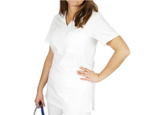 Bluza medyczna kosmetyczna damska biała