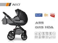 Wózek wielofunkcyjny Riko NIKI (Carbon)