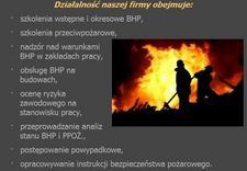 szkolenia okresowe - FIRE - BHP SECURITY MARCI... zdjęcie 1