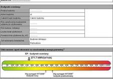 Świadectwo energetyczne budynku, audyt energetyczny budynku