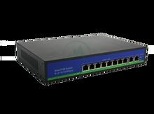 Switch 8 x PoE + 2 x LAN, 150W, 802.3af/at