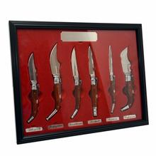 Zestaw 6 noży składanych Albainox Navaja
