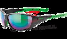 Okulary Uvex Sportstyle 219 BLACK/MAT/GREEN 2015