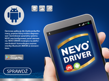 NEVO DRIVER program LPG android