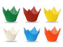Papilotki Muffiny Korona – różne kolory